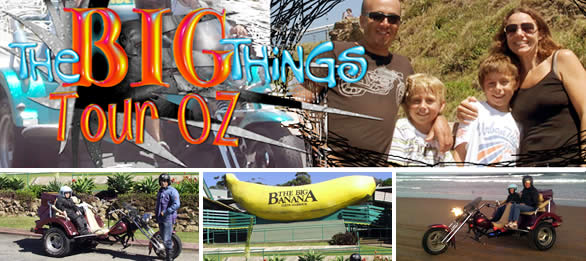 The BIG Things Tour Around Australia 2011 - Itinerary - Go For Fun - Australian Travel and Activity Community. Inspire, Share, Enjoy!
