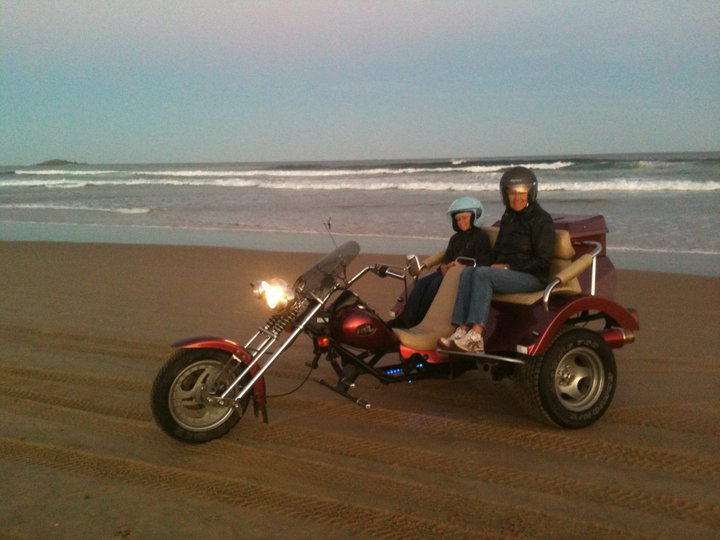 Travel by trike around Australia for BIG Things