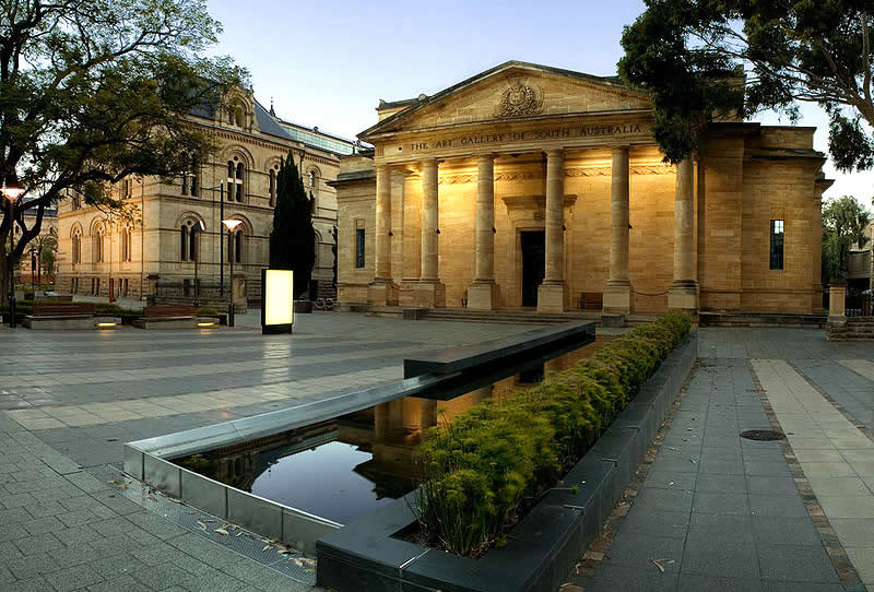 Art Gallery of South Australia - Travel Australia - Adelaide