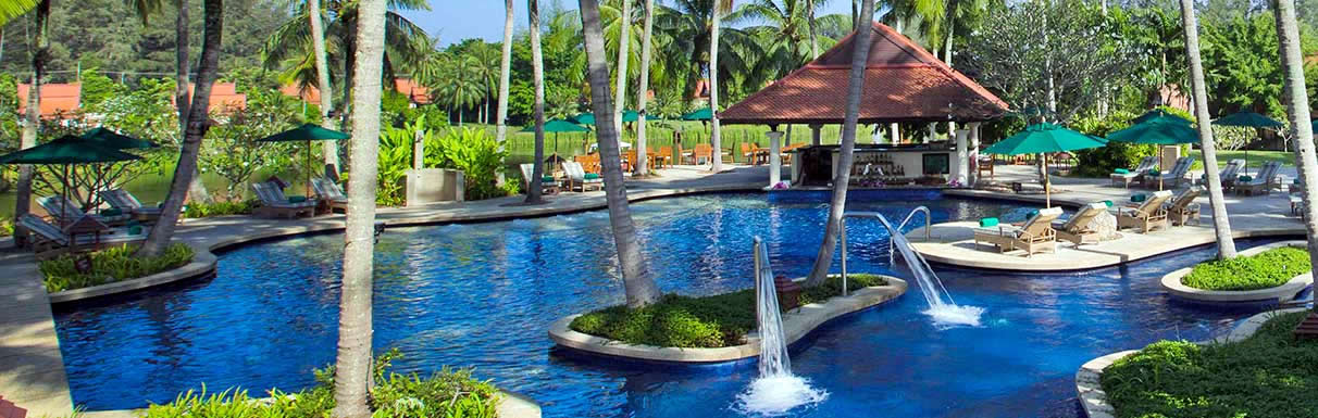 Banyan Tree Resort - Water Park - Travel Phuket, Thailand, Asia  - Australians Winter Family Escape and Romantic Getaway