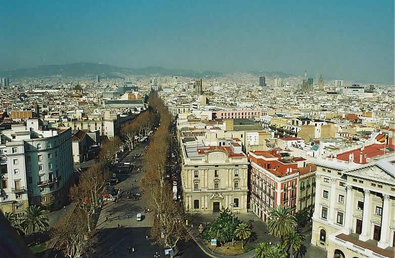 Barcelona - La Rambla - Spain