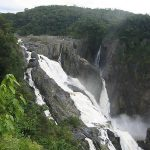 Barron Falls from the Railway Stop - Kurunda Scenic Railway - travel - Queensland, Australia