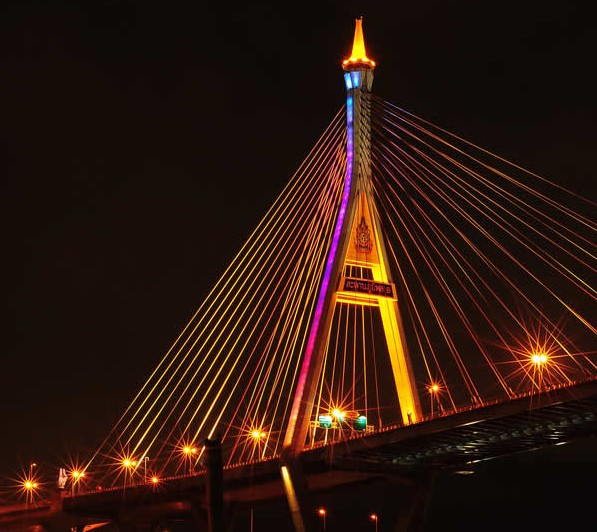 Bhumibol Bridge - Bangkok - Thailand | Australian Travel and Activity Community - Go For Fun