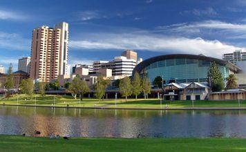 City of Adelaide - River Torrens - South Australia