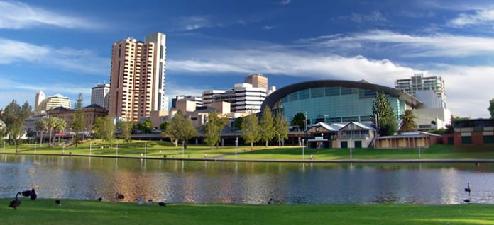 City of Adelaide - River Torrens - South Australia