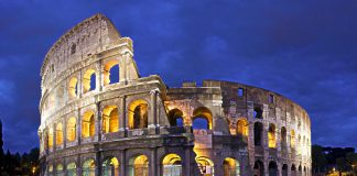 Colosseum in Rome, Italy - Travel Europe