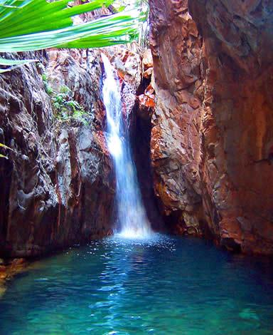 El Questro Gorge Waterfall - Kimberley - Western Australia