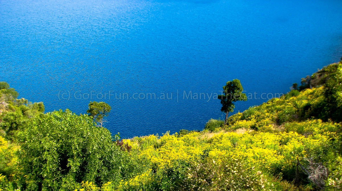 The Blue Lake (in Mount Gambier, South Australia) - [Photo Travel Post] Its Majesty The Blue Lake - Go For Fun - Australian Travel and Activity Community. Inspire, Share, Enjoy!