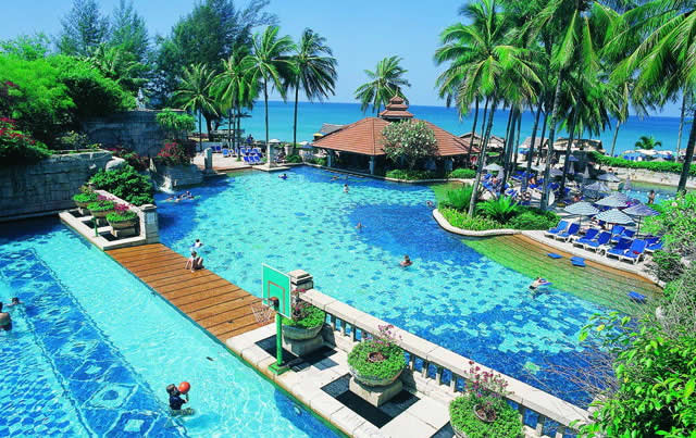 Laguna Beach Resort - Water Park - Travel Phuket, Thailand, Asia  - Australians Winter Family Escape and Romantic Getaway