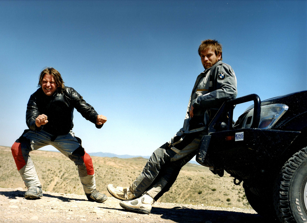 Long Way Round Ewan McGregor Charley Boorman - I Think I've Got a Travel Bug - Go For Fun - Australian Travel and Activity Community
