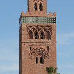 Marrakech - Minaret in Marrakech - Morocco