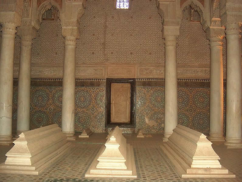 Marrakech - Morocco - Saadian Tombs