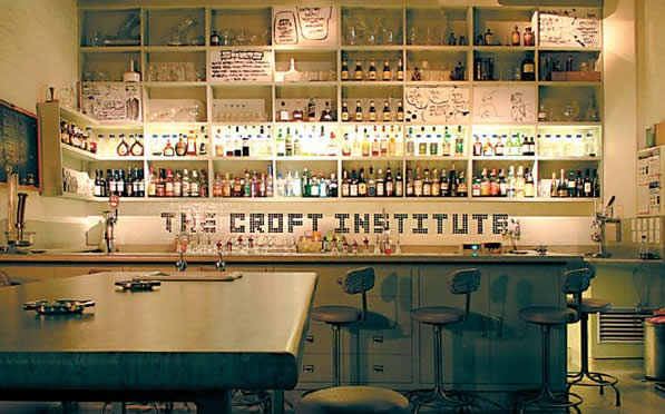 Melbourne Bars - The Croft Institute Bar