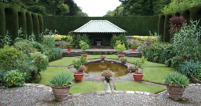 Mount Stewart, North Ireland, County Down, Garden