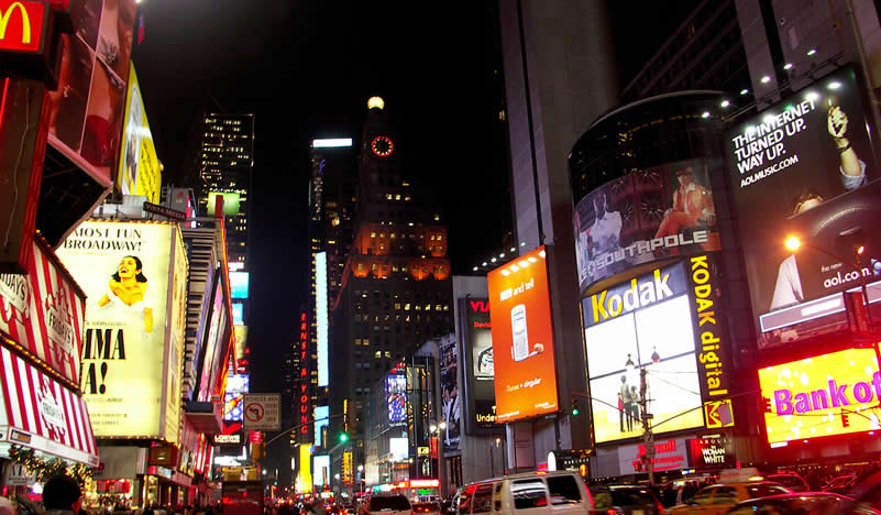 New York - Times Square at night | Go For Fun - Australian Travel and Photography Community