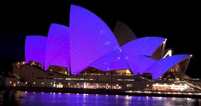 Opera House Vivid Sydney 2010 - Travel Australia - Event - Vivid Sydney Festival