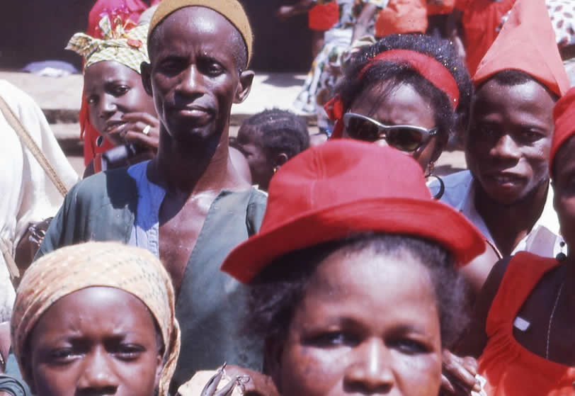 People of Sierra Leone West Africa
