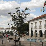 Praca da Republica in Tavira, Portugal