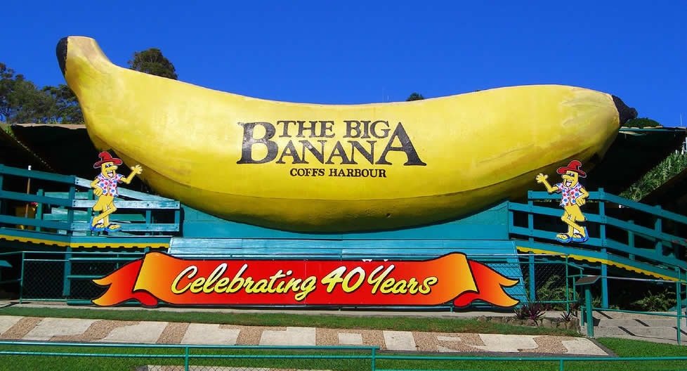 Queensland - Big Banana - Coffs Harbour | Australian Travel & Photography Inspiration - Go For Fun