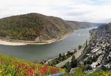 Rhine Gorge - Upper Middle Rhine Valley