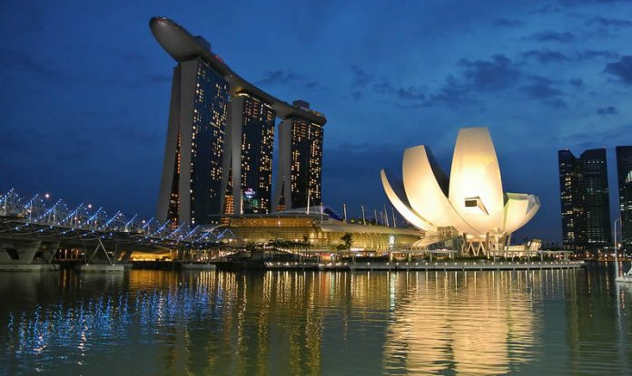 Singapore Marina Bay Sands at twilight - The Must Visit Destinations in Singapore