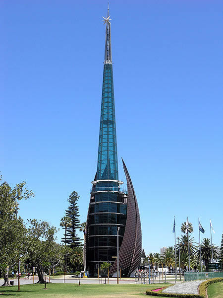 Swan Bells (The Bell Tower),  Perth, Western Australia