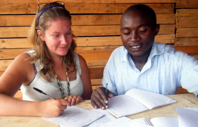 Teaching abroad: Study abroad student in Rwanda