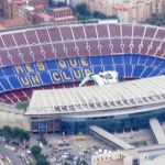 The Camp Nou Stadium - Barcelona - Spain