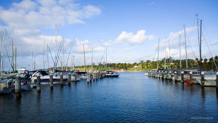 Royal Geelong Yacht Club - sailing - sailboat racing - Davidsons Winter Series - Race 1