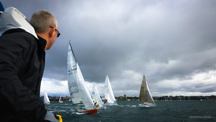 Royal Geelong Yacht Club - sailing - sailboat racing - Davidsons 2016 Winter Series - Race 3