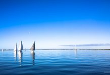 Sailboat Racing at Royal Geelong Yacht Club - Sailing Yacht Photography - Davidsons 2016 Winter Series - Race 4