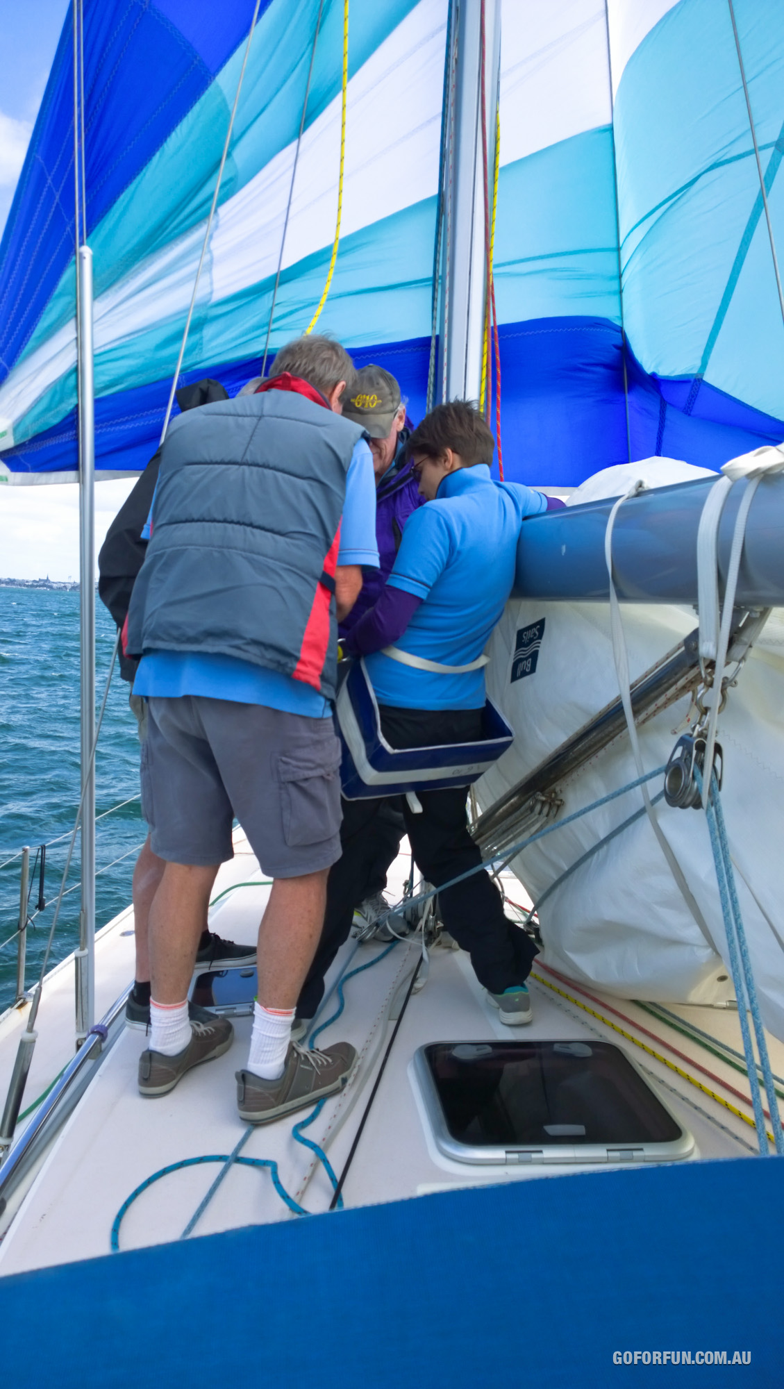 Climbing The Yacht Mast For The First Time Go For Fun Travel
