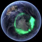 Aurora Australis, Antarctica, South Pole