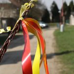 Easter celebration around the world - Easter ribbon