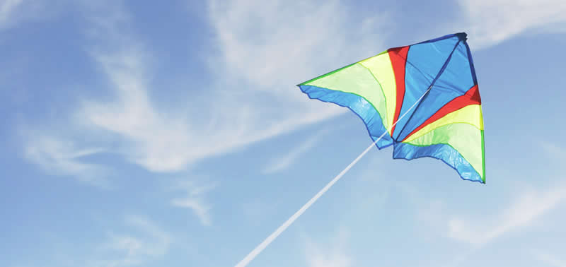 Easter celebration around the world - Kite in sky