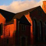 church - light - shadows - Charlottetown - Canada
