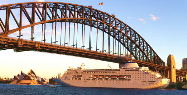 cruise - Pacific Pearl - Sydney Harbour