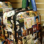 Luggage with Elvis Presley