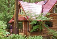 Retreat - cabin in woods