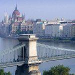 Parliament - Danube in Budapest (Hungary)
