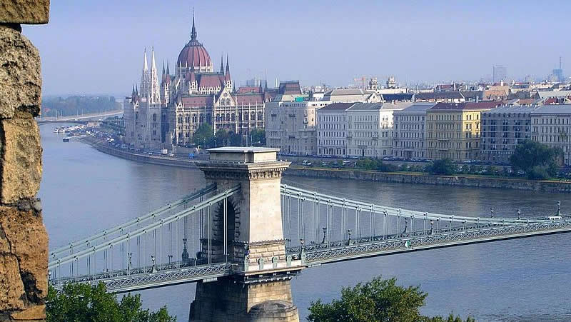 Parliament - The Danube in Budapest (Hungary)