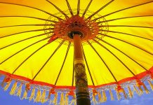 Sun umbrella protection