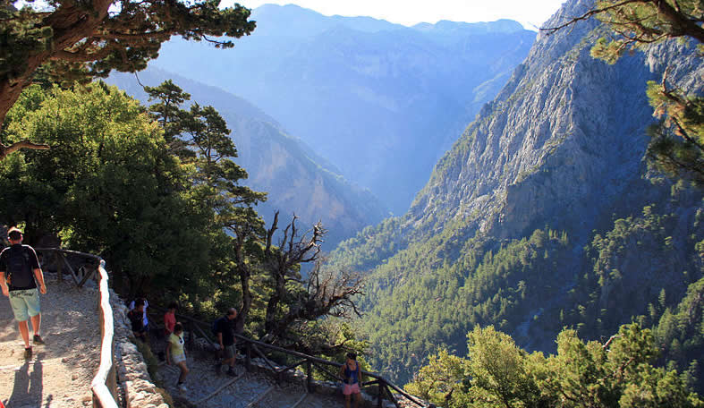Travel Greece - Ghania - Crete - Samaria Gorge
