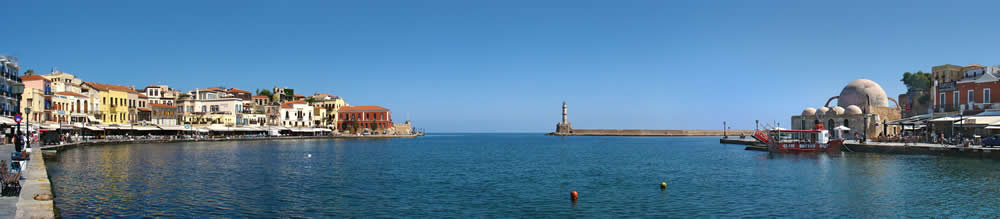 Travel Greece - Ghania - Crete - The Venetian Harbour