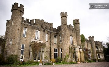travel UK - unusual accommodation - Ancient British Castle