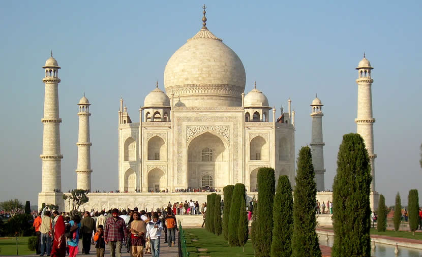 Travel India - Agra - Taj Mahal