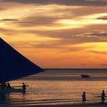 Boracay - Philippines - Asia travel - sunset - beach