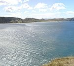 Coromandel Peninsula Panorama, Opito Bay, New Zealand