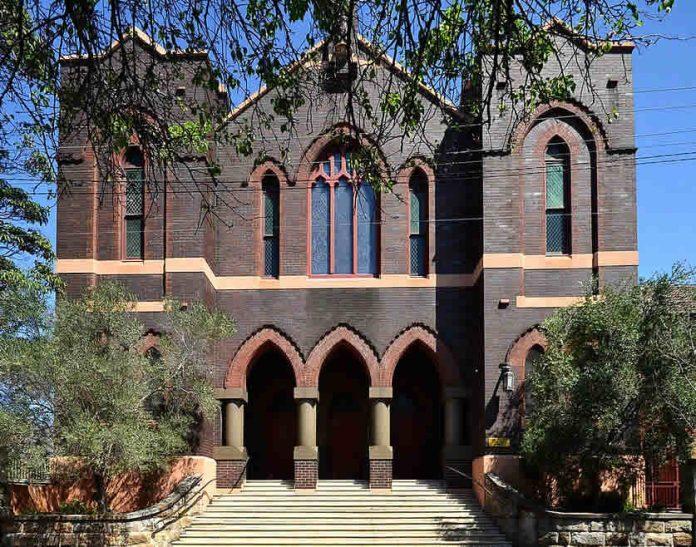 St Peters Catholic Church, Surry Hills, Sydney - Australia travel