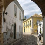 Street in Faro, Portugal